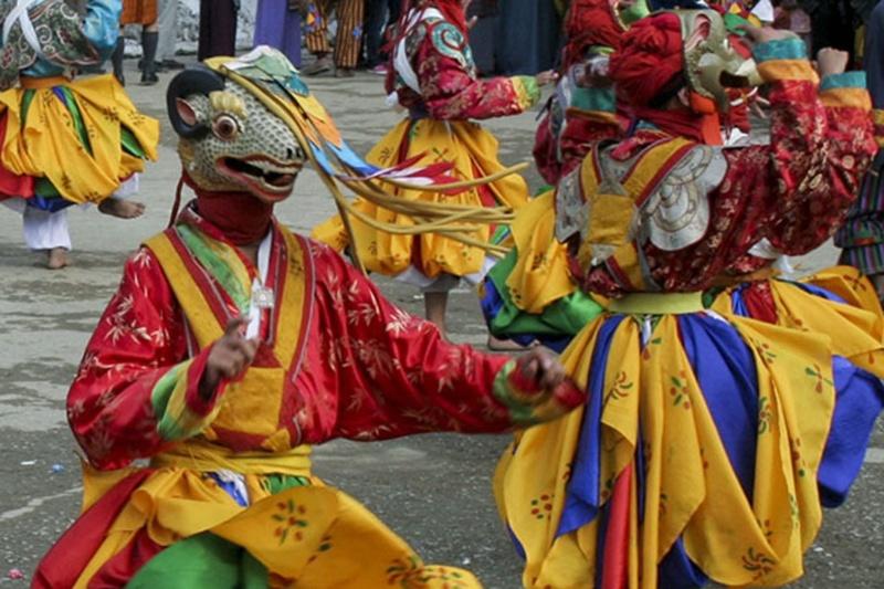 Bumthang festival Bhutan