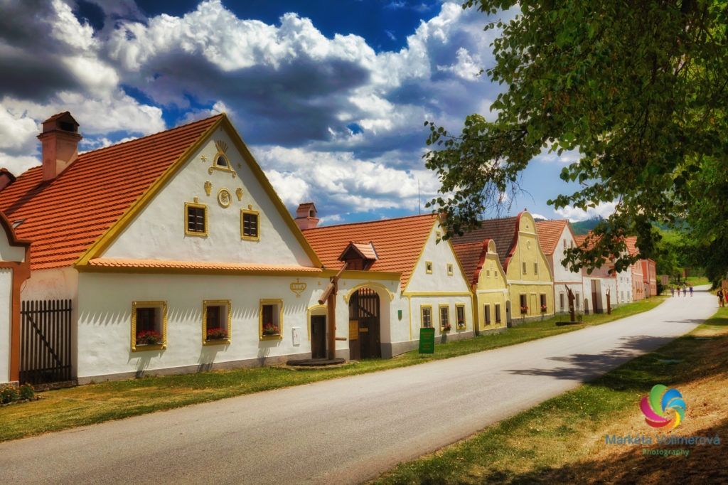 Village Holasovice Czechia tour